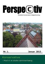 Perspectiv no. 1. 2013. PDF - Konservative Folkeparti