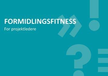 FORMIDLINGSFITNESS - Personaleweb