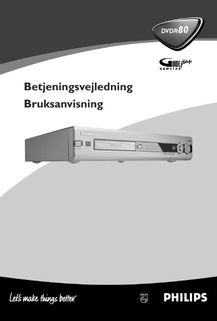 GUIDE Plus+® systemet - Philips