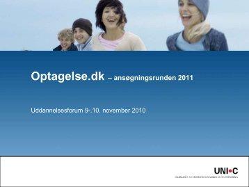 Optagelse.dk – ansøgningsrunden 2011 - Askov Efterskole