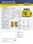 Spectra Precision Laser LL400 fuldautomatisk horisontallaser - Page 2