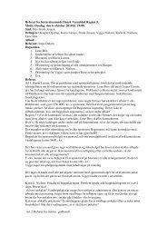061010 Referat fra bestyrelsesmøde Dansk Varmblod Region 5 - DK