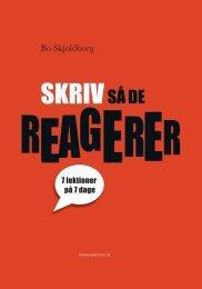Få gratis indholdsfortegnelsen, indledningen og ... - Powerwriting.dk