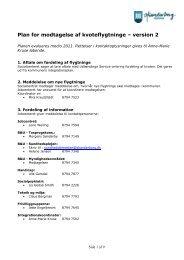 Plan for modtagelse af kvoteflygtninge – version 2 - Integrationsviden