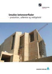 Smukke betonoverflader - Aalborg Portland
