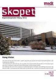 skopet uge 49 / 2010 - Hospitalsenhed Midt