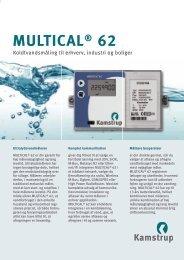MULTICAL® 62 - Kamstrup A/S
