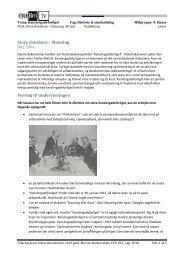 Store danskere – Stauning Forslag til undervisningen - CFU film og tv