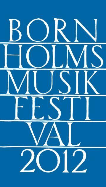 k r. 10 - Bornholms Musikfestival