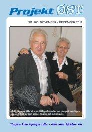 Nr. 186 - november - december 2011 - Projekt Øst