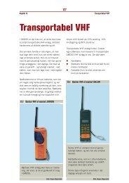 Kapitel 13 – Transportabel VHF (pdf - 400Kb) - Fiskericirklen