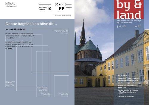 By & Land - Juni 2006.pdf - Bygningskultur Danmark