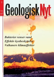 GEOLOGISK NYT - Skagen Innovation Center