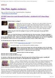STORT interview med Kenneth Krabat - eksklusivt til ... - Menneske