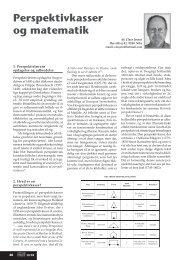 Perspektivkasser og matematik - Matilde