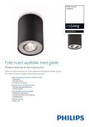 563303016 Philips Vegglampe - Magnavox