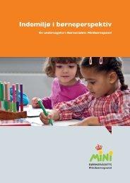 Indemiljø i børneperspektiv - Børnerådet