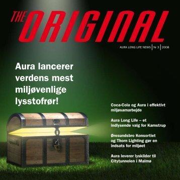 Aura lancerer verdens mest miljøvenlige lysstofrør! - Aura Light