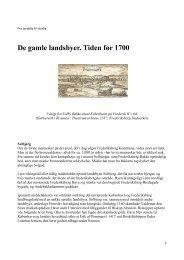 De gamle landsbyer. Tiden før 1700 - Frederiksberg Stadsarkiv ...
