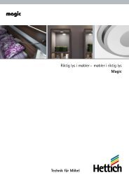 Katalog Magic - Hettich
