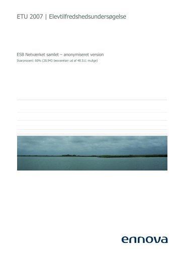 ETU 2007 | Elevtilfredshedsundersøgelse - Selandia CEU