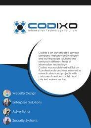 Company Profile - Codixo