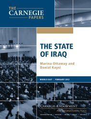 The State of Iraq - Carnegie Endowment for International Peace