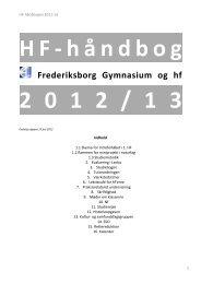 HF-håndbog 2012-13.pdf - Frederiksborg Gymnasium og HF