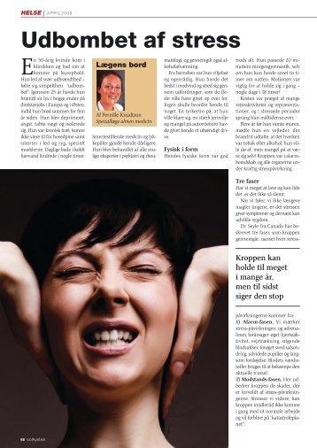 Udbombet af stress - Sundheds og Akupunkturklinikken Vitafakta