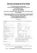 Reserverings betingelser for Campingplads Familie Heide GbR - Page 2