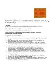 Referat fra Udvalgt for Sundhed og Forebyggelse - Haderslev ...