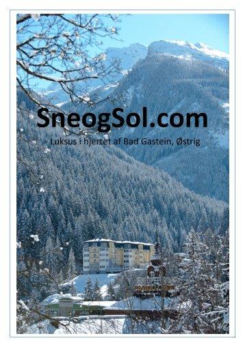 Udskriv profilbrochure her - Sne og Sol