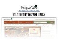 Download our company presentation - Philipson Wine