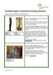 Se værker der blev udloddet i 2010