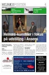 Helnæs-kunstner i fokus på udstilling i Assens - helnæsposten