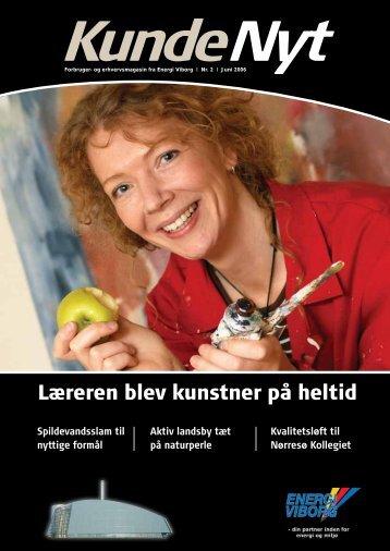 Læreren blev kunstner på heltid - majken Bilgrav Sørensen