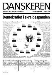 Demokratiet i skraldespanden - Den Danske Forening