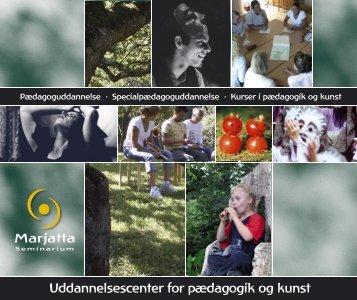 Brochure om seminariet - Marjatta Seminarium