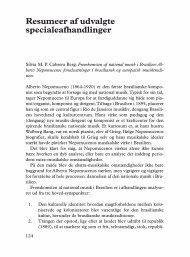 Resumeer af udvalgte specialeafhandlinger - dansk musikforskning ...
