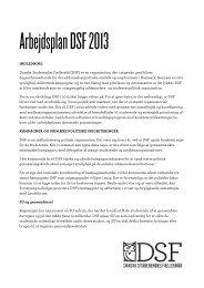 Arbejdsplan 2013 - Danske Studerendes Fællesråd