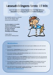 Læseudviklingens første 12 trin (LUS) - Hadbjerg Skole