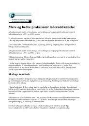 Mere og bedre praksisnær lederuddannelse.pdf - Bedst Praksis ...