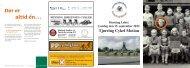 Herning-løbet - folder - Tjørring Cykel Motion
