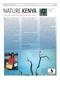 Kenya - naturforvaltning nær Ækvator - Dansk Ornitologisk Forening - Page 5