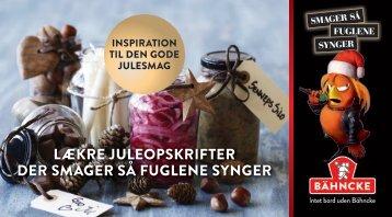 LÆKRE JULEOPSKRIFTER DER SMAGER SÅ FUGLENE SYNGER