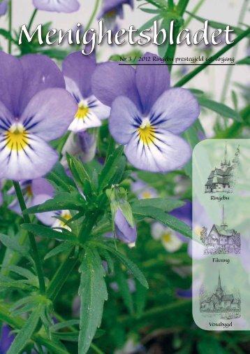Menighetsbladet nr 3 - 2012 - Ringebu Stavkirke