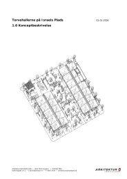 Torvehallernes 1.0 Konceptbeskrivelse - Arkitekturværkstedet