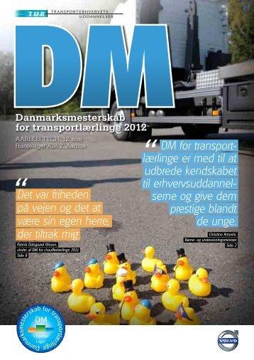 DM for transport- lærlinge er med til at udbrede kendskabet til ...