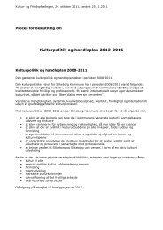 Proces for beslutning om Kulturpolitik og handleplan - Silkeborg ...