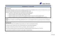 Strategiplan 2012 - Senior Erhverv Danmark